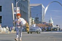 Veterandagen ståtar, St Louis, MO royaltyfria bilder