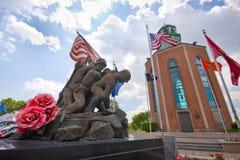 Veterane des Krieg-Denkmals Stockbilder
