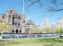Veteranen-Denkmal 2010 Torontos Ontario lizenzfreie stockfotos