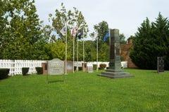 Veteranen Memorial Park Stock Foto's