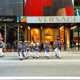 Veteranen-Tagesparade Lizenzfreie Stockfotografie