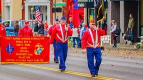Veteranen-Tagesparade 2016 Lizenzfreies Stockfoto