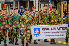 Veteranen-Tagesparade 2016 Stockfotos