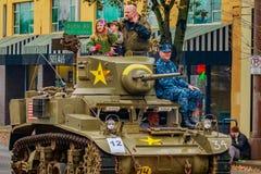 Veteranen-Tagesparade 2016 Stockfotos