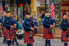 Veteranen-Tagesparade 2016 Stockfotografie