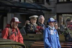Veteranen van oorlogen stock foto