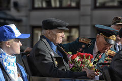 Veteranen van oorlogen stock foto's