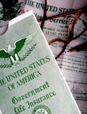 Veteranen-Versicherungspolice Lizenzfreie Stockfotos