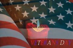 Veteranentageshintergrund Lizenzfreies Stockfoto
