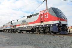 Veterani dell'Amtrak locomotivi Fotografia Stock Libera da Diritti