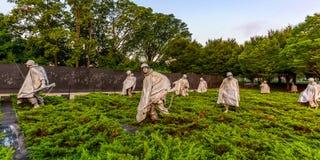 Veterani della Guerra di Corea commemorativi Fotografie Stock Libere da Diritti
