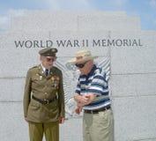 Veterani di WWII Immagine Stock Libera da Diritti
