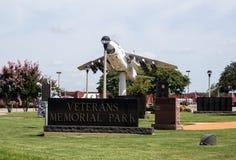 Veterani Memorial Park Fotografie Stock