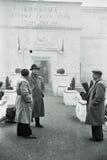 Veterani sovietici a Sebastopoli, Crimea, URSS, 1950 Fotografia Stock