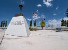 Veterankyrkogård, det ultimata offret arkivbilder
