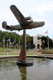 Veteranmuseet och den minnes- mitten Arkivfoton