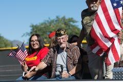 Veterano americano fotografie stock