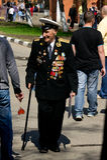Veterano da grande guerra patriótica Imagens de Stock