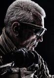 Veterano das forças especiais Imagem de Stock Royalty Free