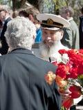 Veterano de guerra Fotografia de Stock