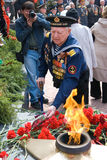 Veterano del marinero Foto de archivo