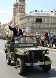 Veterano dell'esercito americano - Eroe anziano Immagine Stock Libera da Diritti