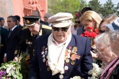 Veterano el día de la victoria Fotos de archivo libres de regalías