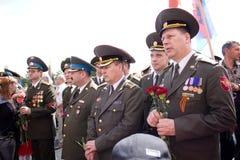 Veterano el día de la victoria Foto de archivo libre de regalías
