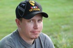 Veterano iraquiano da liberdade da operação Fotos de Stock