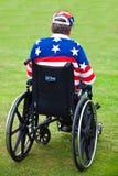 Veterano lisiado Fotos de archivo libres de regalías