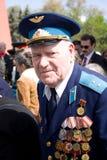Veterano no dia da vitória Foto de Stock Royalty Free