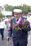 Veterano no dia da vitória Foto de Stock