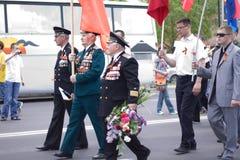 Veterano no dia da vitória Imagem de Stock Royalty Free