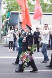 Veterano no dia da vitória Fotografia de Stock Royalty Free