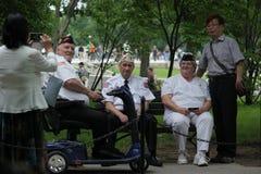 veteranos fotografía de archivo