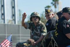 Veteranos americanos Imagen de archivo libre de regalías