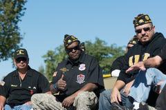 Veteranos americanos Fotos de archivo libres de regalías