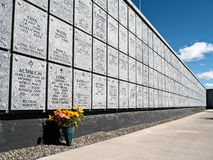Veteranos cementerio conmemorativo, Fernley, Nevada Fotos de archivo libres de regalías