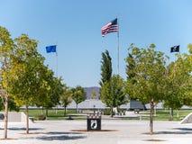 Veteranos cemitério memorável, Fernley, Nevada Fotografia de Stock