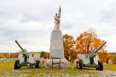 Veteranos conmemorativos en el PA Fotos de archivo libres de regalías