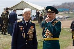 Veteranos da segunda guerra mundial Foto de Stock Royalty Free