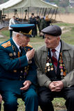 Veteranos de la Segunda Guerra Mundial Fotografía de archivo libre de regalías