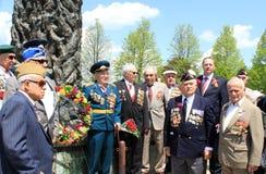 Veteranos del ejército rojo Fotos de archivo