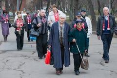 Veteranos do esporte Fotografia de Stock
