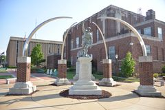 Veteranos Jonesboro memorável de Craighead, Arkansas Fotografia de Stock Royalty Free