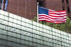 Veteranos plaza de Vietname, New York City Fotos de Stock Royalty Free