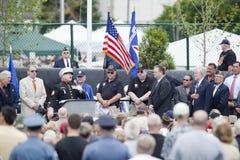 Veterans. At dedication of the Wildwood Memorial to Vietnam War, New Jersey Royalty Free Stock Images