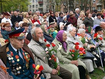 Veterans Royalty Free Stock Photography
