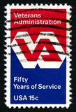 Veterans Administration US Postage Stamp Royalty Free Stock Images