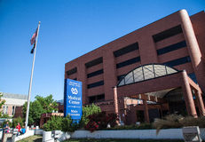 Veterans Affairs Medical Center. In Denver, Colorado. The VA is a military veterans benefit system run by the U.S. government; it is the U.S. government's stock photos